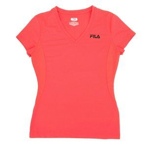 FILA Sport Performance V-Neck Shirt Short Sleeve